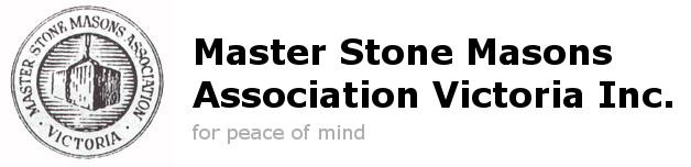 Master Stone Masons Association Victoria