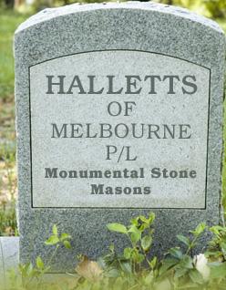 Hallets of Melbourne 467 St Kilda Road Melbourne VIC 3001 Mob: 0417 752 391