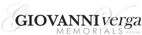 Giovanni Verga Memorials 03 9359 5509